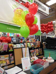 Balloons for Genentech