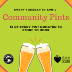 April is Community Pints Month at Deschutes Brewery!